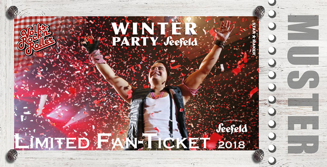 Winterparty Andreas Gabalier - Seefeld 2018 - Limited Fan Ticket