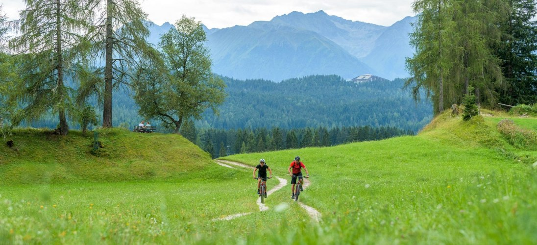 E-Biken in der Region