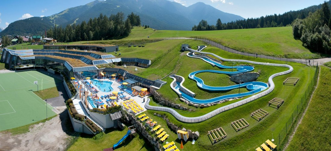 Olympiabad Seefeld im Sommer
