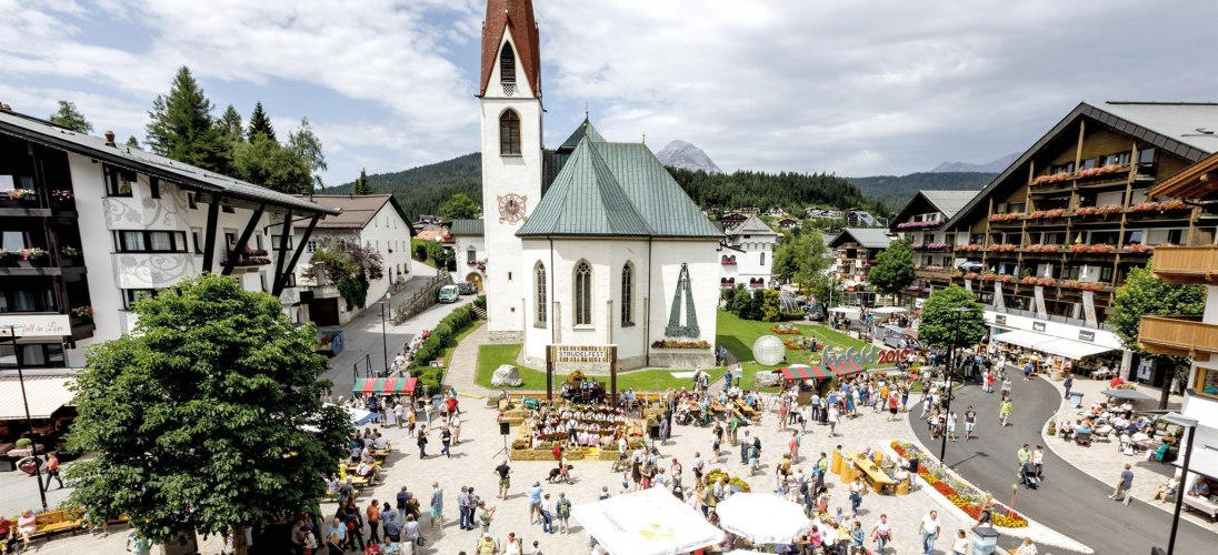 Events am Dorfplatz in Seefeld