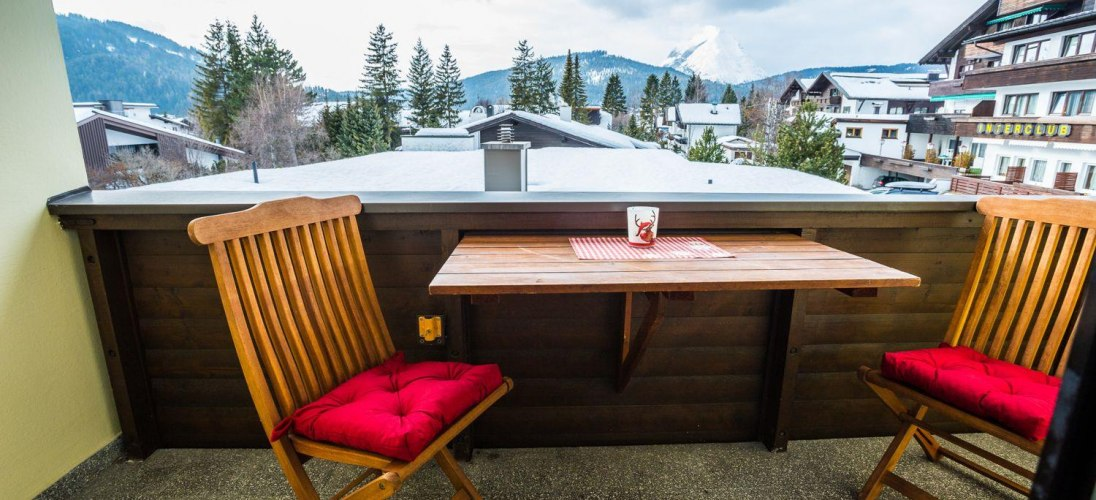App. Amalie - Top 8 - Balkon im Winter