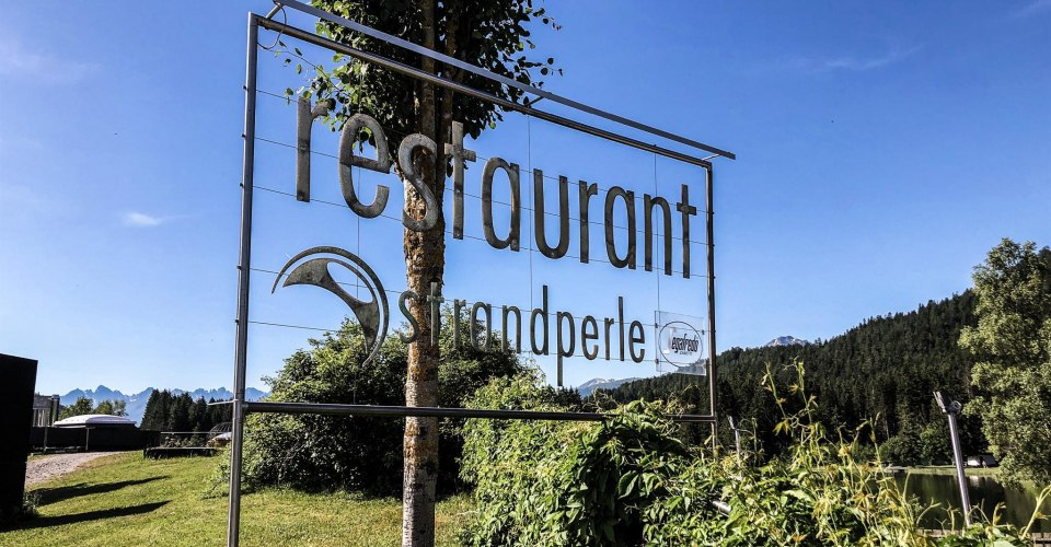 Restaurant Strandperle beim Wildsee in Seefeld