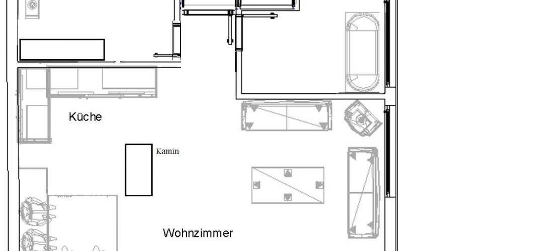 Grundriss Appartement TOP 2
