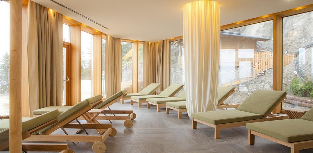 Mountain Spa Ruheraum